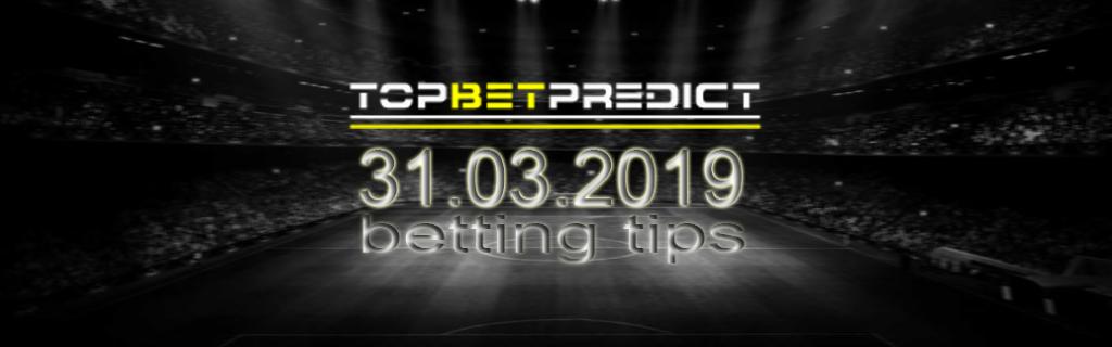Best Over/Under Football Tips Sunday 31 03 2019
