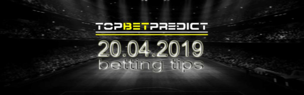 Win Draw Win Top Bet Saturday 20 04 2019