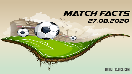 Match Facts and Predictions 27.09.2020