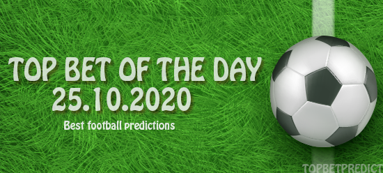 Top Betting Predictions 25.10.2020