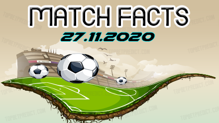 Match Facts and Predictions 27 11 2020