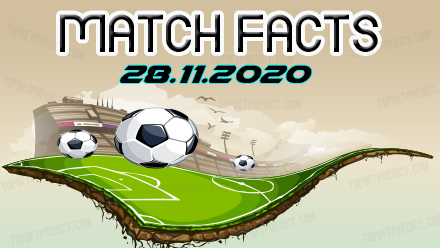 Match Facts and Predictions 28 11 2020