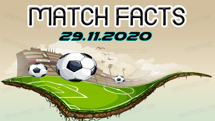 Match Facts and Predictions 29 11 2020