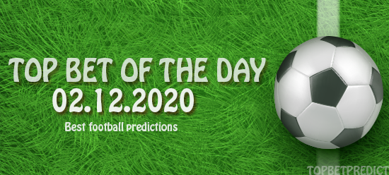 topbet of the day 02 12 2020
