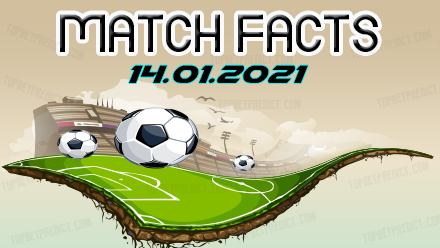 Match Facts and Predictions 14 01 2021