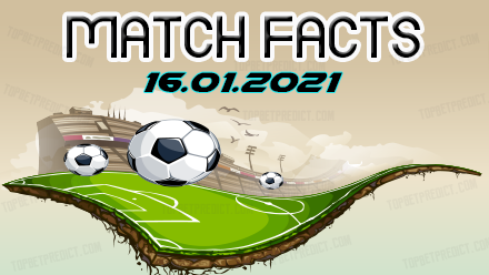 Match Facts and Predictions 16 01 2021