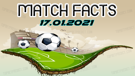 Match Facts and Predictions 17 01 2021
